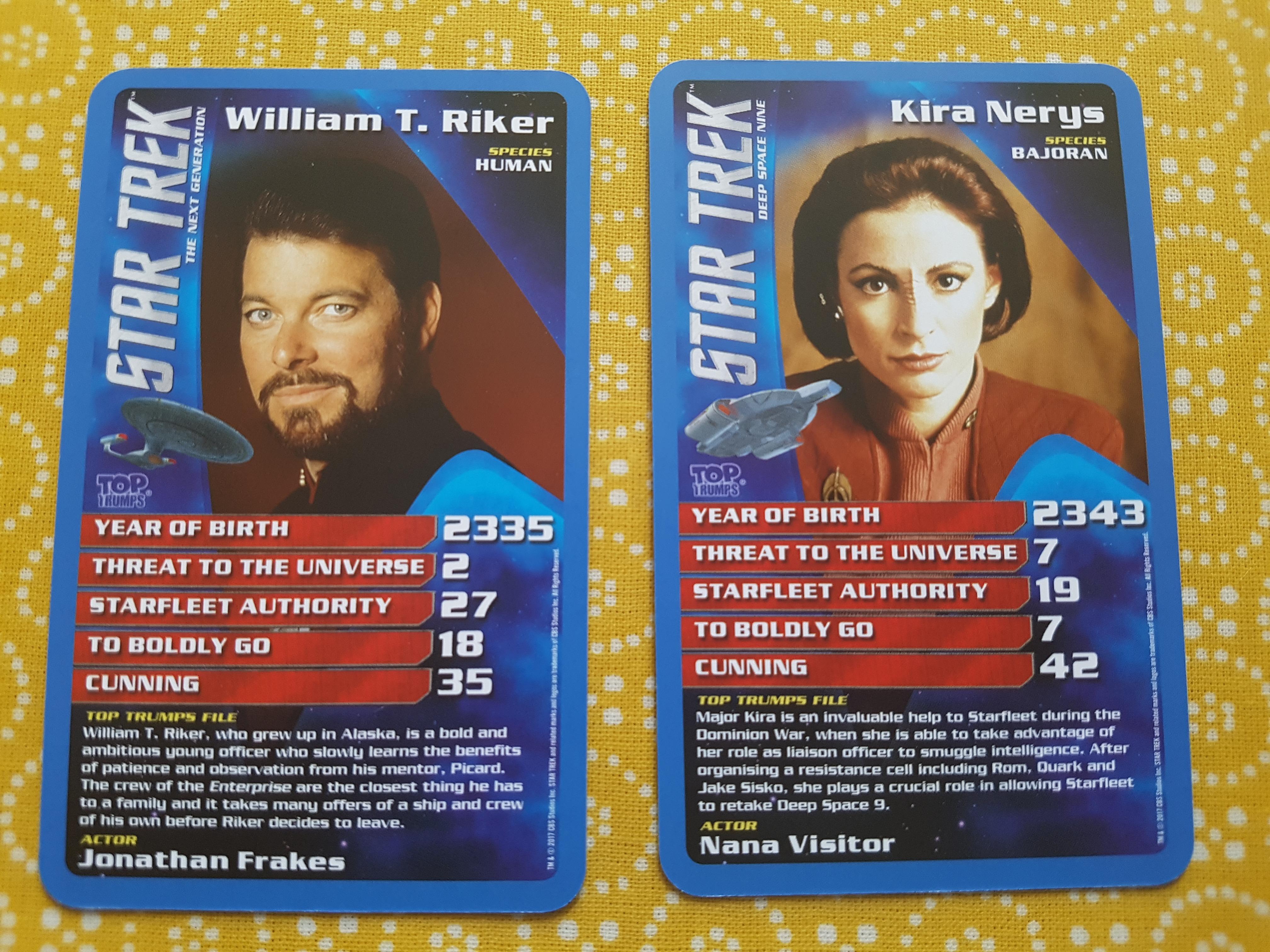 Star Trek Top Trumps Special
