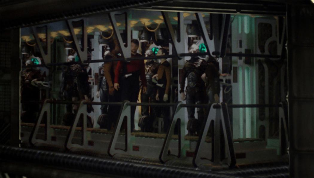 Boba Fett Ship Interior