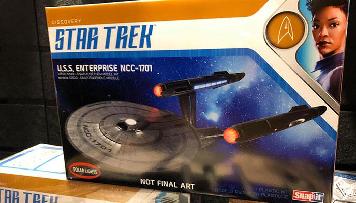 Enterprise Light Kit Polar Lights Star Trek Discovery U.S.S
