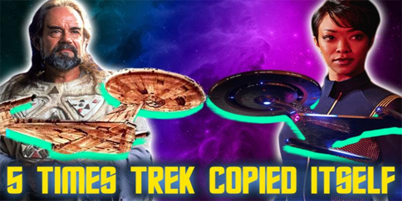 Jessie Gender - 5 Times Star Trek Copied Itself
