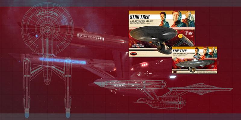 Review – Discovery U.S.S. Enterprise NCC 1701 Polar Lights 18″ - Nacelle & Aztecs