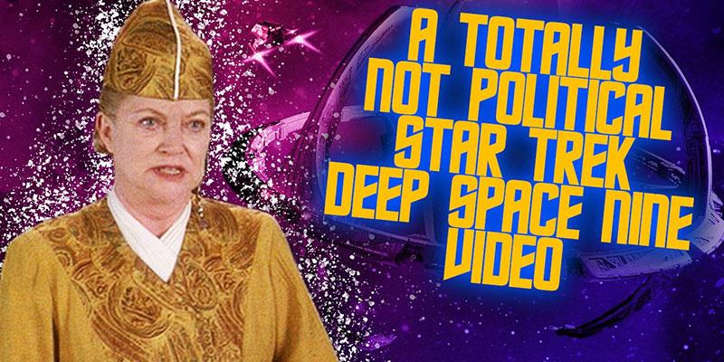 Jessie Gender - Star Trek Deep Space Nine Totally Isn't Political