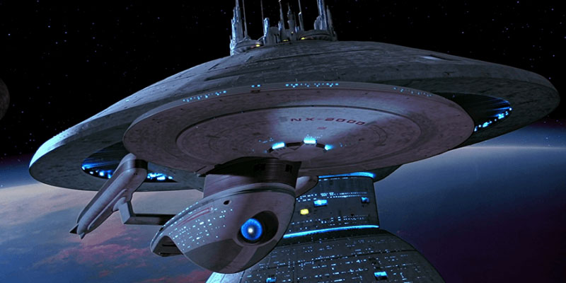 USS Excelsior Search For Spock