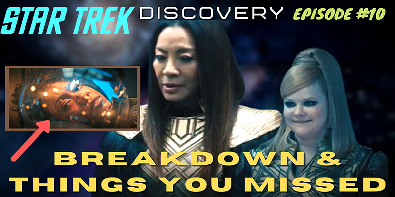 "What Did I Miss? - Discovery S3 Ep10 ""Terra Firma Part 2"" Breakdown & Things You Missed"