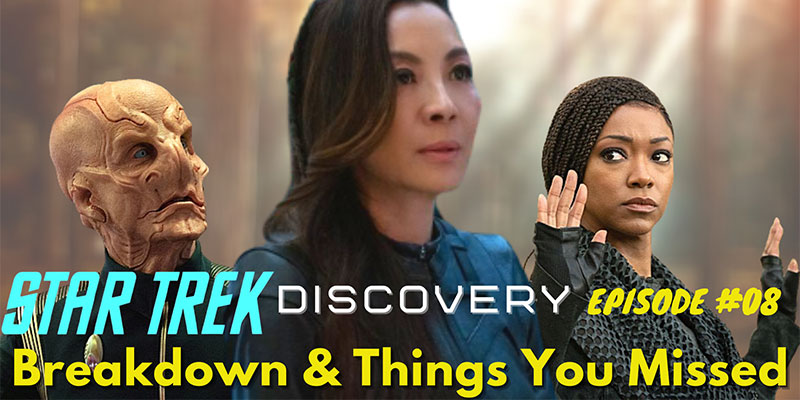 "What Did I Miss? - Discovery Ep 8 ""The Sanctuary"" - Review & Breakdown"