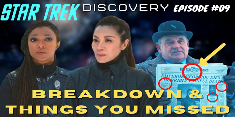 "What Did I Miss? - Discovery S3 Ep 9 ""Terra Firma Part 1"" Breakdown & Things You Missed"