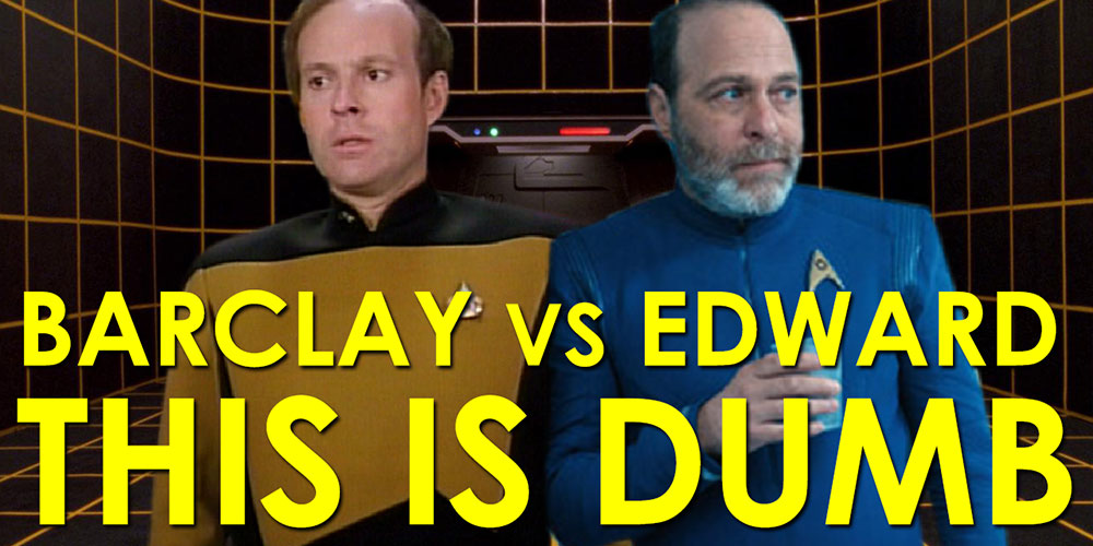 RJC - Barclay vs Edward: This is Dumb - Supplemental