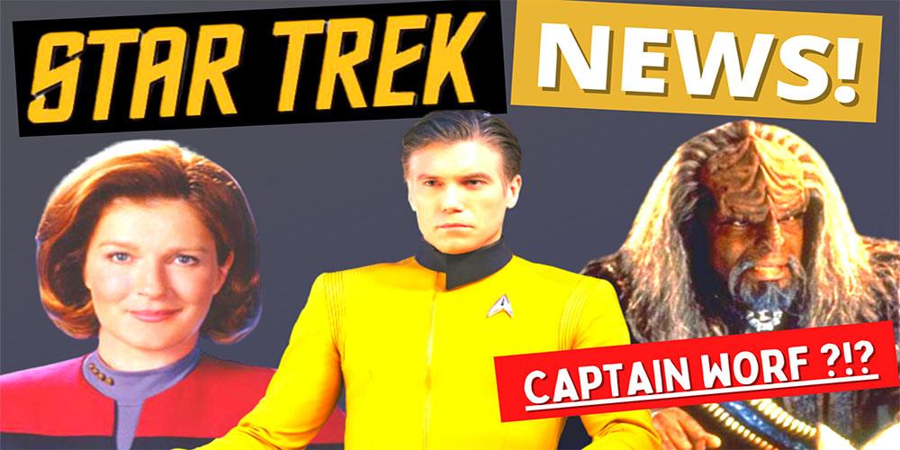 What Did I Miss? – Star Trek Update: Strange New Worlds, Prodigy, Michael Dorn Talks Worf!!