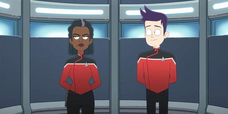 Captain Freeman & Ensign Brad Boimler