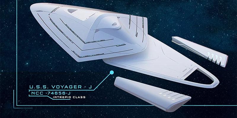 U.S.S. Voyager - NCC 74656 - J
