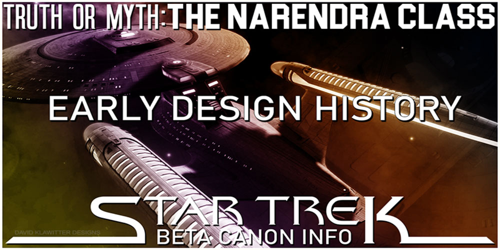 Truth OR Myth? BETA - The Narendra Class, Early Design History