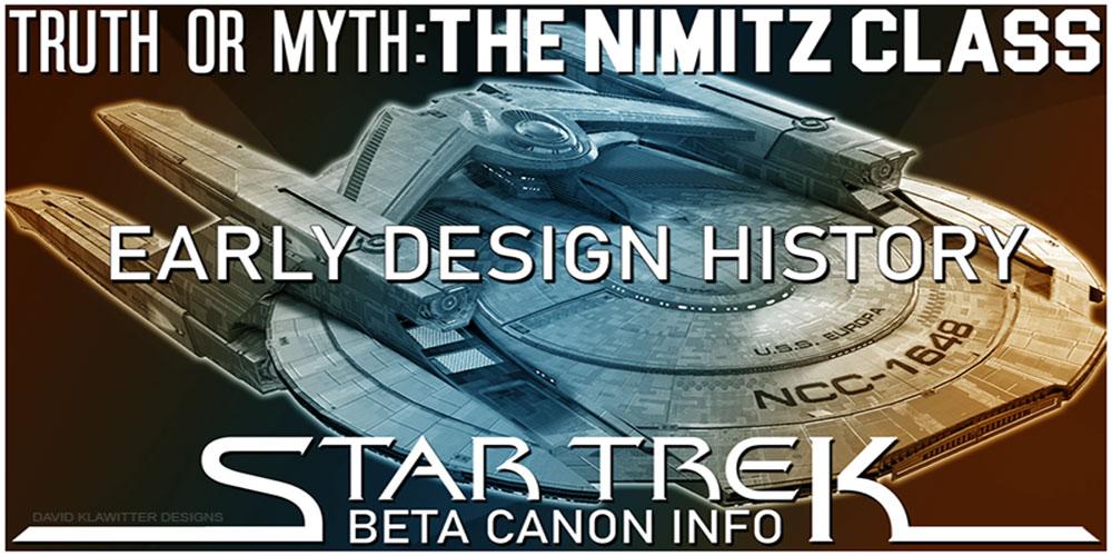 Truth OR Myth? BETA - The Nimitz Class - Early Design History