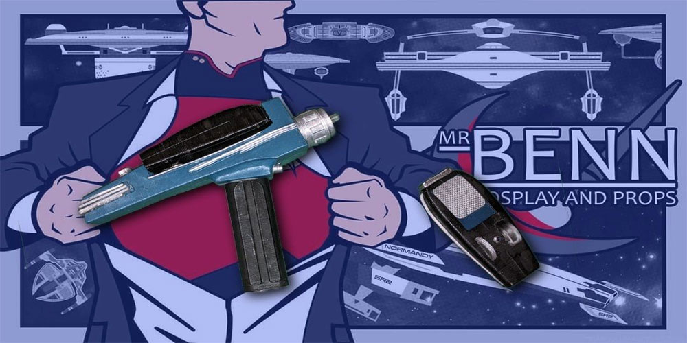 MrBenn Makes – Star Trek TOS Phaser Type 2