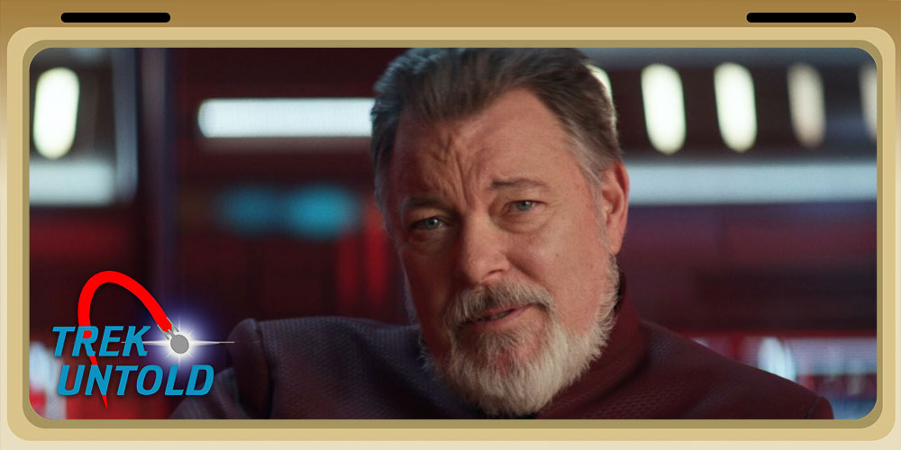 Trek Untold - Jonathan Frakes - The Secret Origin of Riker's Walk