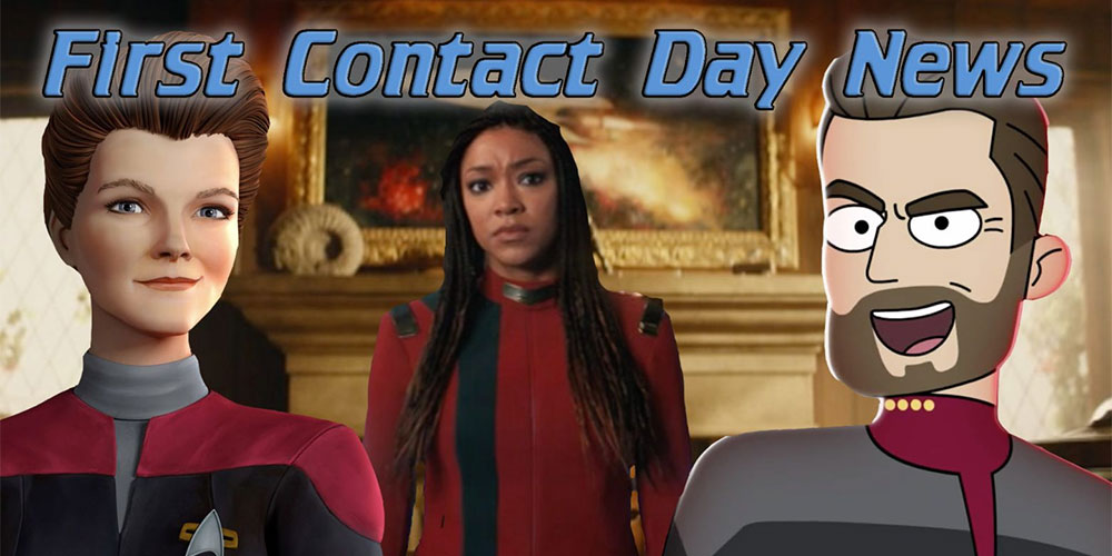 Tex-Trek - OUR! Reaction to First Contact Day STAR TREK News