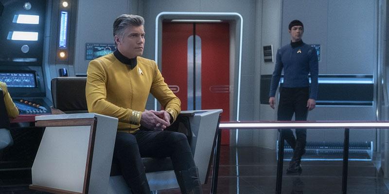 Pike and Spock