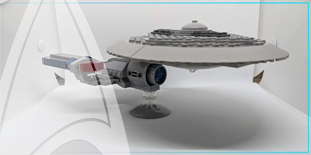 TrekCatCatCat - Star Trek Lego - USS Enterprise - NCC 1701-C