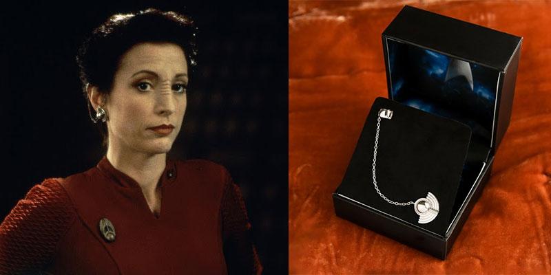 Kira Nerys Bajoran Cuff Earring