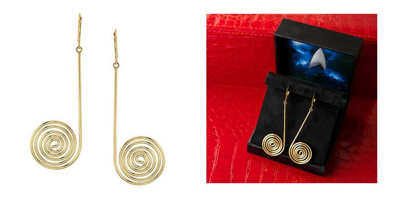 Uhura Spiral Earrings