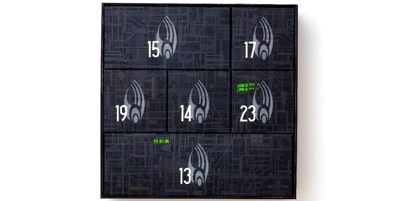 HERO COLLECTOR'S Borg Advent Calendar