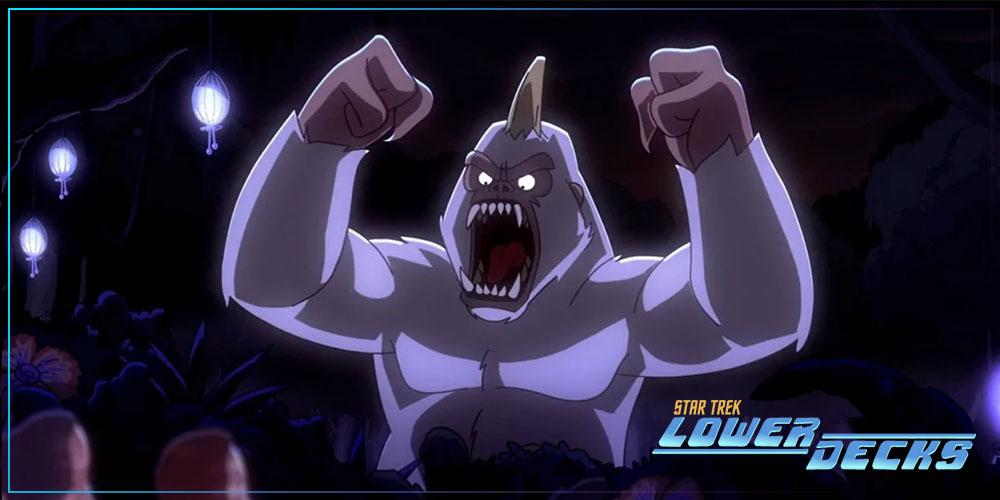 "Review - LOWER DECKS 2x04- ""Mugato, Gumato"""