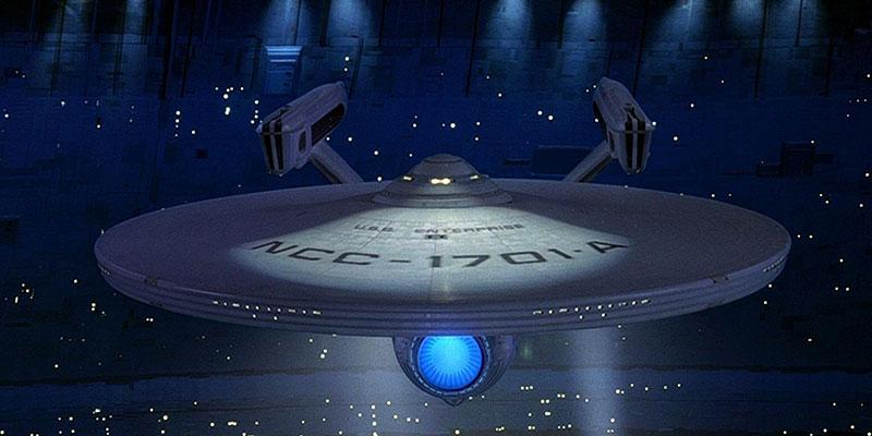 Enterprise A Spacedock
