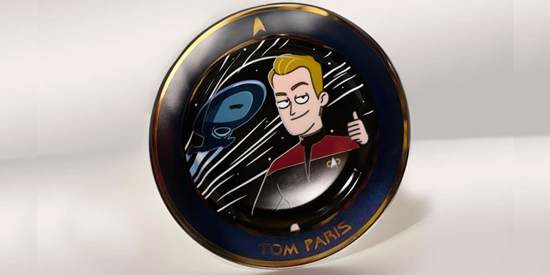 Tom Paris Plate