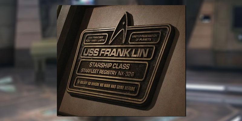 U.S.S. Franklin's Dedication Plaque