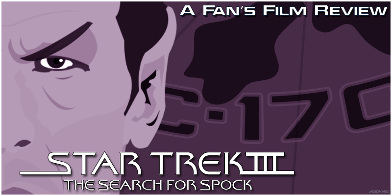 03 Star Trek III The Search For Spock Banner PNG