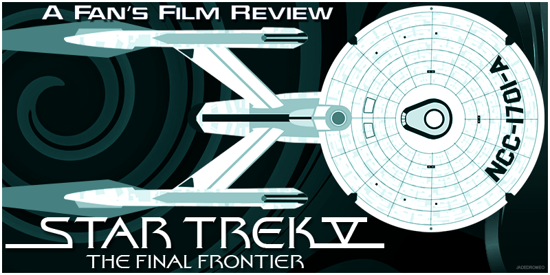 05 Star Trek V The Final Frontier Banner PNG
