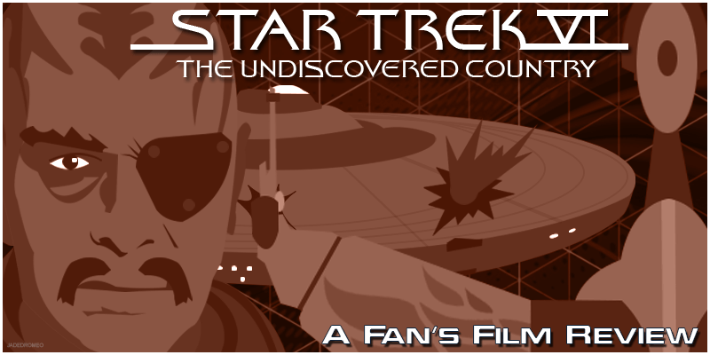 06 Star Trek VI The Undiscovered Country Banner PNG
