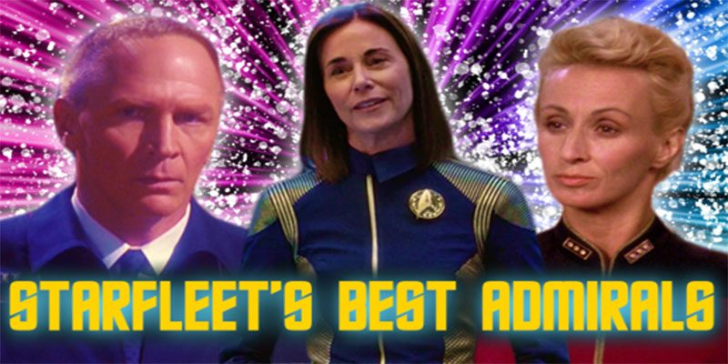 Jessie Gender - Who is Starfleet's Best Admiral?