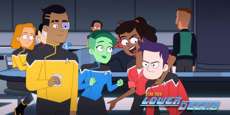 Episode Review - Star Trek: Lower Decks S1: E1 -