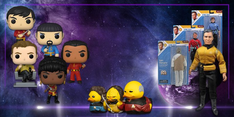 Preview: New Trek Products From Funko, Mego, And More!