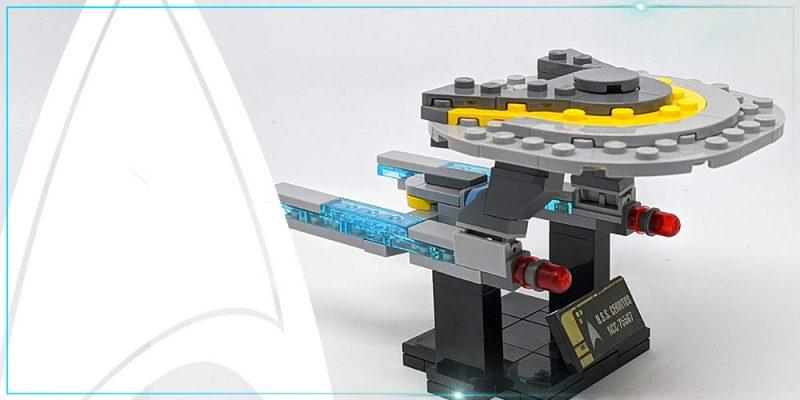 TrekCatCatCat – Star Trek Lego – USS Cerritos Header