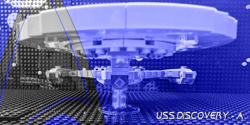 TrekCatCatCat - Star Trek Lego - NCC 1031 - A - U.S.S. Discovery Refit