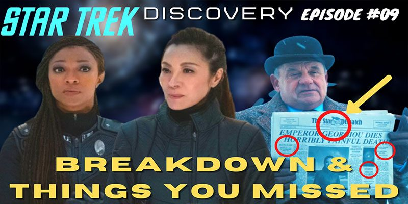 What Did I Miss? - Discovery S3 Ep 9