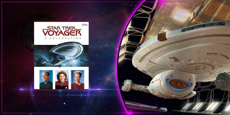 Header Book Review Star Trek Voyager A Celebration