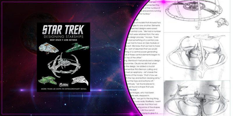 Header Star Trek: Designing Starships, DS9 & Beyond.