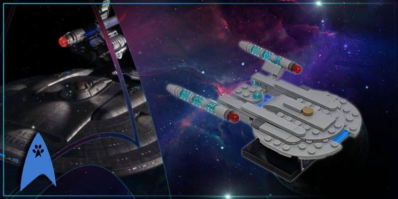 Header Trekcatcatcat – Star Trek Lego – NX 01 Enterprise