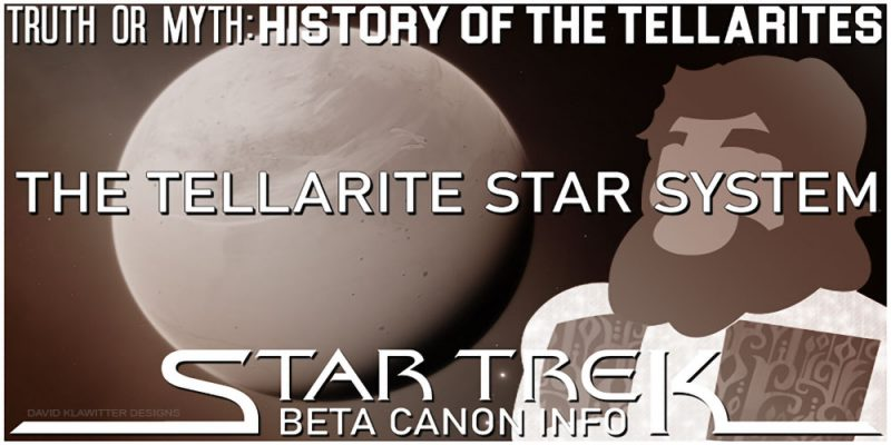Header Truth OR Myth? Beta Canon - The Tellarite Star System