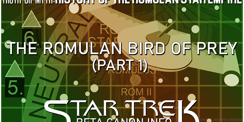 Romulan Bird Of Prey Part One Header